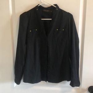 Black blouse from the limited
